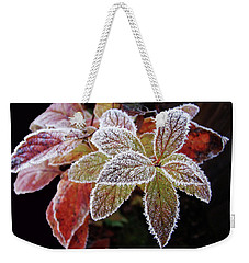 Frost Cluster Weekender Tote Bag by Betsy Zimmerli