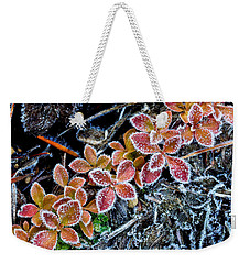 Frost Line Weekender Tote Bag