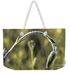 Frost On Flower Weekender Tote Bag