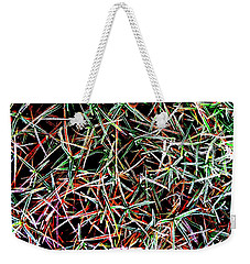 Frost On The Grass Weekender Tote Bag