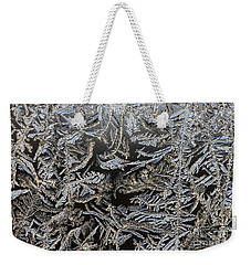 Frost Patterns Weekender Tote Bag