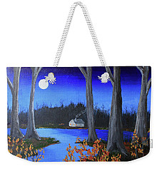 Frost Tonight Weekender Tote Bag