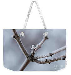 Frosted Morning Weekender Tote Bag by Ana V Ramirez