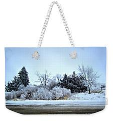 Frostie Weekender Tote Bag