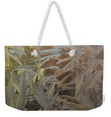 Frostwork - White Jungle Weekender Tote Bag