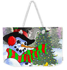 Frosty And Friends Weekender Tote Bag