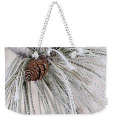 Frosty Weekender Tote Bag