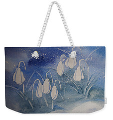 Frosty Bells Weekender Tote Bag