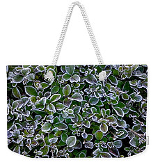 Frosty Hedgerow Weekender Tote Bag