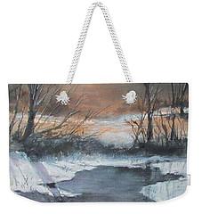 Frosty Morn. Weekender Tote Bag