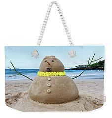 Frosty The Sandman Weekender Tote Bag