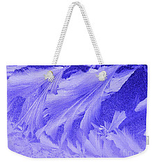 Frosty Window Weekender Tote Bag