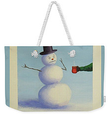 Frosty's Nightmare I Weekender Tote Bag