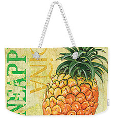 Froyo Pineapple Weekender Tote Bag by Debbie DeWitt