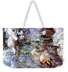 Frozen Bank  Weekender Tote Bag