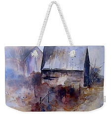 Frozen Barn Weekender Tote Bag