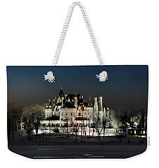 Frozen Boldt Castle Weekender Tote Bag