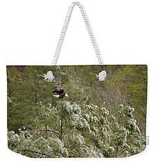 Frozen Call Weekender Tote Bag