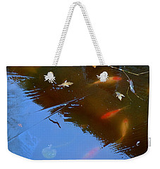 Frozen Carp Weekender Tote Bag