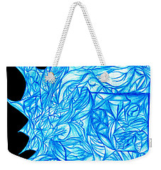 Weekender Tote Bag featuring the drawing Frozen Desire by Jamie Lynn