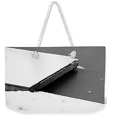 Frozen Dock Weekender Tote Bag