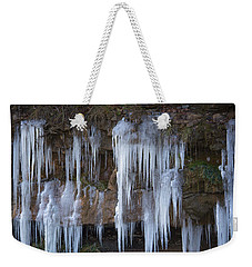 Frozen Weekender Tote Bag by Ester Rogers
