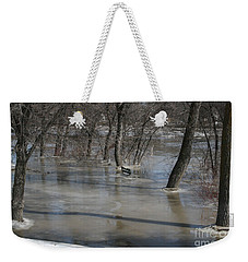 Frozen Floodwaters Weekender Tote Bag