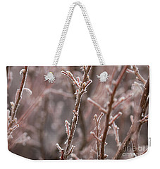 Frozen Garden Weekender Tote Bag by Ana V Ramirez