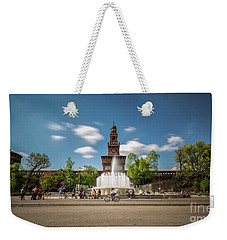 Frozen Weekender Tote Bag by Giuseppe Torre