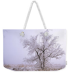 Frozen Ground Weekender Tote Bag by Chad Dutson