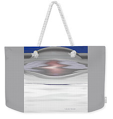Frozen In Space Weekender Tote Bag