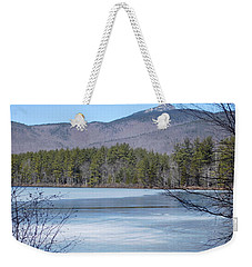 Frozen Lake Chocorua Weekender Tote Bag