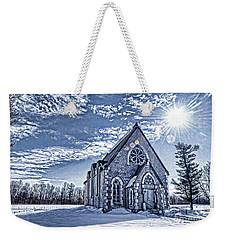 Frozen Land Weekender Tote Bag