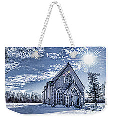 Frozen Land Weekender Tote Bag