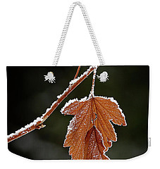 Frozen Leaf - 365-287 Weekender Tote Bag