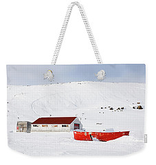 Frozen Life Weekender Tote Bag by Nick Mares