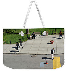 Frozen Lines Weekender Tote Bag by Jose Rojas
