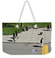 Frozen Lines Weekender Tote Bag