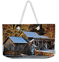 Frozen Mill Weekender Tote Bag