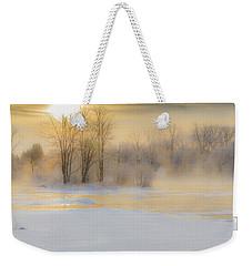 Frozen Morning Weekender Tote Bag