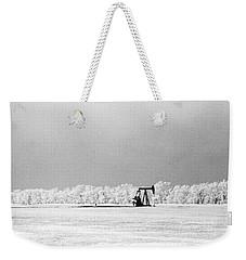 Frozen Oil Field Weekender Tote Bag