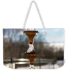 Frozen Rain Chains Weekender Tote Bag