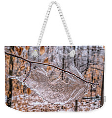 Frozen Remains Weekender Tote Bag by Todd Breitling