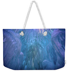 Weekender Tote Bag featuring the photograph Frozen by Rick Berk