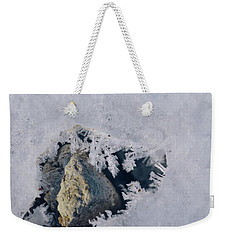 Frozen Rock Weekender Tote Bag