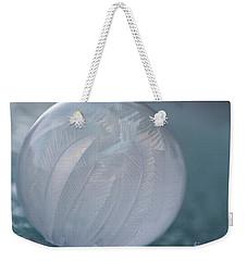 Frozen Soap Bubble -georgia Weekender Tote Bag