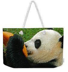 Frozen Treat For Mei Xiang The Giant Panda Weekender Tote Bag