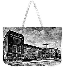 Frozen Tundra - Black And White Weekender Tote Bag
