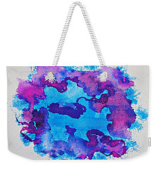 Frozen Waters Weekender Tote Bag