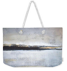 Frozen Winter Lake Weekender Tote Bag